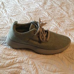 Women's Allbird sneakers mint green